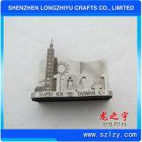 Titular de la tarjeta de identificación artesanales de metal logotipo personalizado