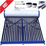 Non-Pressurized避難させた管の太陽熱湯ヒーター(100L)