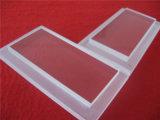 Kundenspezifische freie Quarz-Glasplatte mit Jobstepps