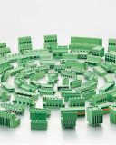 O aumento do tipo de fechamento do bloco de terminais de PCB (WJE3K500B/508B)