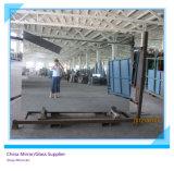 水平の真空の上塗を施してあるフロートガラスホーム装飾のための2mmから6mmアルミニウムミラーガラス、最大サイズ2440 x 3660mm