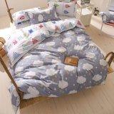 安いポリエステルファブリックホーム織物の敷布の羽毛布団カバー