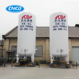 Tanques de armazenamento superiores horizontais 15m3 do líquido criogênico do tipo ISO9001
