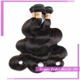 Tessuto brasiliano superiore all'ingrosso dei capelli dell'onda del corpo di Remy del Virgin della fabbrica