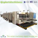 7 Serie H de velocidad de Cartón Ondulado Printer Slotter Troquelado (máquina)