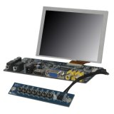 "Ecrã táctil SKS Tis Resistivo de 5 ""com entrada HDMI VGA"