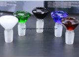 14.5 mm 여성 합동 유리제 연기가 나는 관을%s 다이아몬드 유리제 연기가 나는 부속품