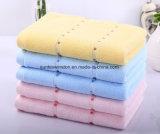 100% хлопок сплошным цветом Satin ванной полотенца