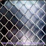 Гальванизированная квадратная сетка квадрата загородки звена цепи ячеистой сети коммерчески