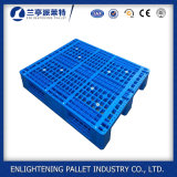 1200X1200 três calhas de armazenagem de paletes de paletes de plástico