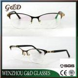 2018 het Klassieke Optische Frame Eyewear van het Oogglas van het Metaal van de Voorraad van het Ontwerp In het groot