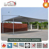 11X7.5m Six Cars Steel Carport Tent with Sun Cloth