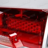 Senken Gladde Xenon/LED met de Noodsituatie die van 2 Spreker Lichte Staaf waarschuwen
