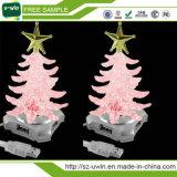 Eje ligero libre del USB del árbol de navidad LED de la muestra