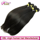 В полной мере Cuticle человеческого волоса соткать прямые волосы Камбоджи