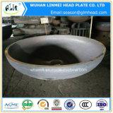 炭素鋼の楕円の帽子の管付属品