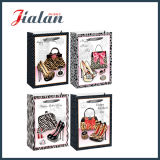 La insignia impresa las compras de empaquetado de la aduana vende al por mayor la bolsa de papel para la señora