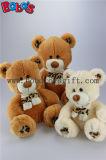 차가운 도매가에 있는 표범 인쇄 스카프를 가진 장난감에 의하여 채워지는 테디 갈색 곰