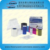 Tipo compatible cinta de la impresora de la tarjeta del color de Ymcko