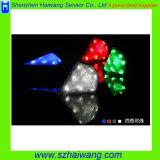 Taillight inteligente Hw-B1 do laser do diodo emissor de luz da bicicleta da jóia de 8 diodos emissores de luz