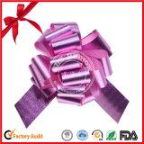 POM POM Tirar arco de la cinta para la decoración de la boda