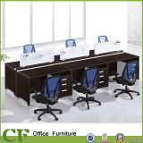 StaffのためのイタリアのStyle Classic Luxury Modualr 6 Person Office Partition