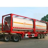 Немецкий подвески Super Link двойной топливный бак дизельного полуприцепов