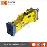 El rectángulo del fabricante de Yantai silenció los cortacircuítos hidráulicos para el cargador del buey del patín