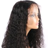 150% плотность Джерри вьющихся волос человека Wig передней кружева для чернокожих женщин