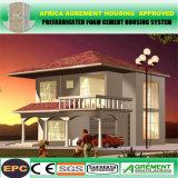 Casa prefabricada de la casa del bajo costo de la casa prefabricada prefabricada del panel solar