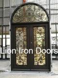 Самомоднейшая дверь утюга входа с Tempered стеклом для дома использовала