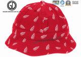 Moderner Form-Art-nicht gesponnener Gewebe-Firmenzeichen-Schutzkappen-Wannen-Hut