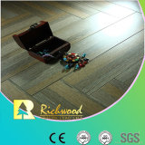 Comercial 12.3mm AC4 Crystal Hickory Sound Absorbing Laminated Floor