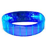 Armband des Förderung-Geschenk-druckte grelles Licht-LED mit Firmenzeichen (4011)