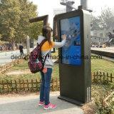 Touch Screen Displayer der im Freienbekanntmachenstandplatz-55inch