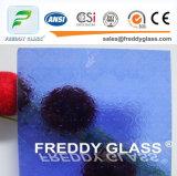 4.6mm 청동에 의하여 길쌈되는 장식무늬가 든 유리 제품 가구 유리창 유리
