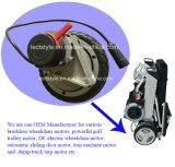 moteur sans frottoir du fauteuil roulant 10inch pour le fauteuil roulant léger de pouvoir