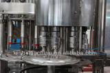 自動炭酸飲料のびん詰めにする機械を完了しなさい