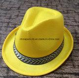 Different Colors를 가진 선전용 Oliver Straw Fedora Hats
