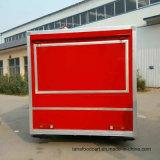 Googの品質の譲歩の食糧トラックの販売のための移動式食糧トレーラー