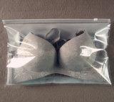 Sac clair respectueux de l'environnement de soutien-gorge de PVC zip-lock d'OEM