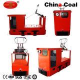 Heiße obenliegende Grubenlokomotive des Verkaufs-10t