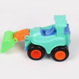 Plastik-DIY Baustein-Auto-Spielzeug