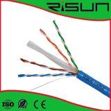 Cable de la red de cable de Ethernet del cable de LAN del cable del alto rendimiento UTP CAT6