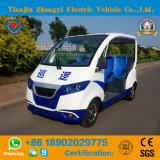 Elektrische Patrouillewagen 4 Zetels met de Certificatie van Ce