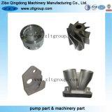 De Gietende Delen van de Investering van het roestvrij staal met CNC die Vervaardiging in China machinaal bewerken