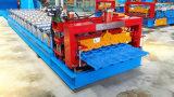 Tuiles glacées couvrant le roulis de panneau formant le constructeur de machine fabriqué en Chine