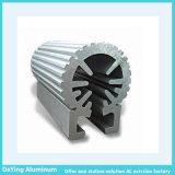 ألومنيوم مصنع ألومنيوم قطاع جانبيّ بثق مع فرق شكل