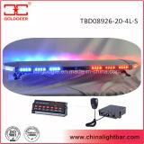 12V LEIDENE Waarschuwing Lightbar met BinnenSpreker voor Auto (tbd08926-20-4l-s)