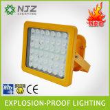 Proyector LED para la zona 1, 2 de la zona 21, 22 de Atex + Iecex estándar utilizado en atmósferas explosivas, Gasolinera, planta química.